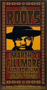 The Roots 2005 Fillmore Auditorium March 4th Handbill Poster