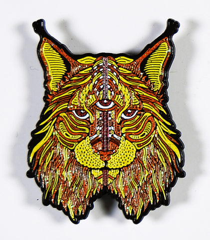 "LMT ED ""FIRE LYNX"" Enamel Pin by OWEN MURPHY"