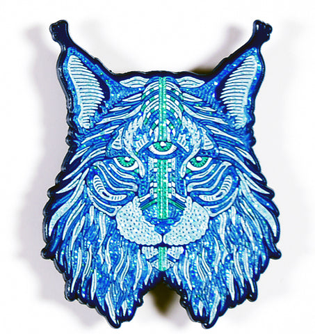 "LMT ED ""ICE LYNX"" Enamel Pin by OWEN MURPHY"