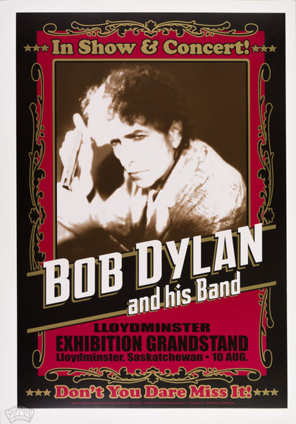 "Bob Dylan & his Band - 2012 - Geoff Gans - ""Can-a-de-io"" North American Edition no. 6161"