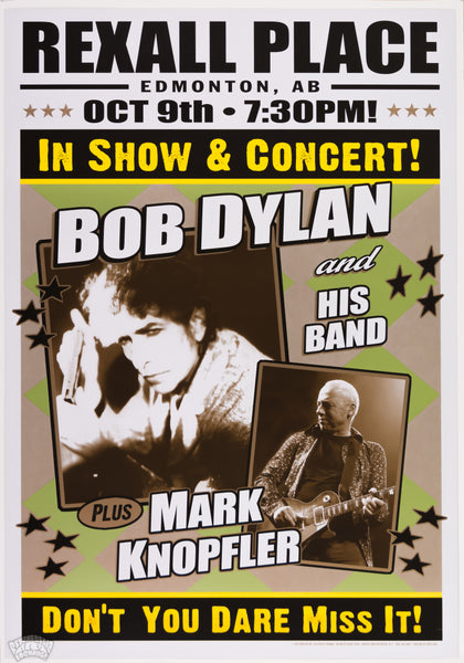 "Bob Dylan & Mark Knopfler - 2012 - Geoff Gans - ""Roll On John"" LMT ED No.12-7"