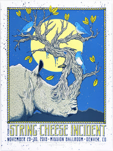 Owen Murphy String Cheese Incident Mission Ballroom - AP White