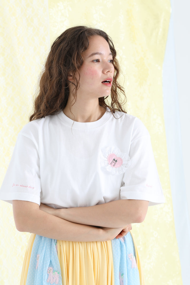 Cheer up T-Shirt / White