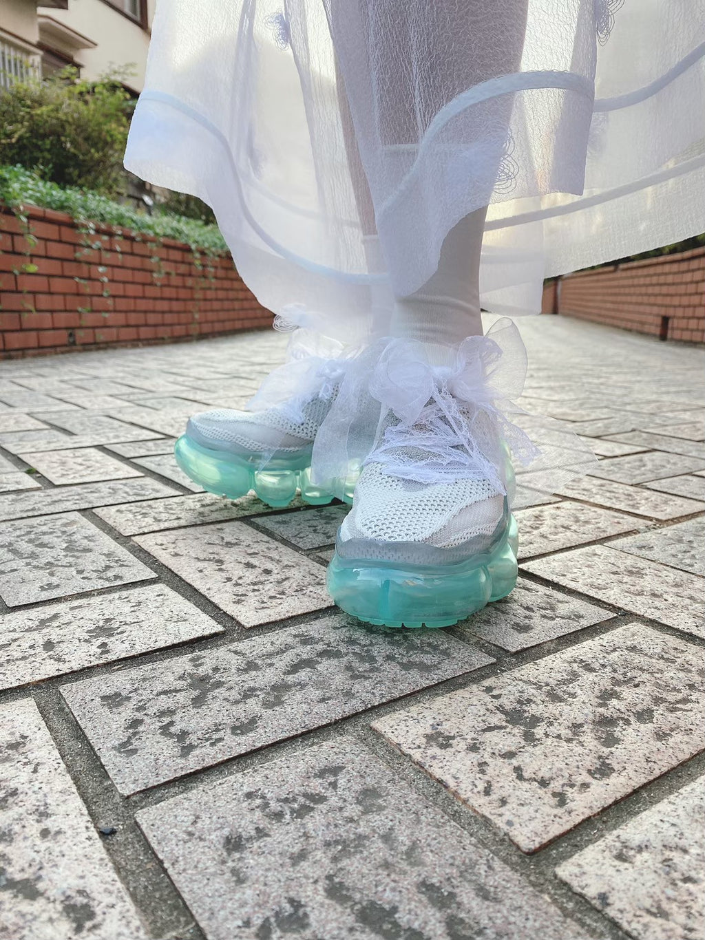 "Midsole ""Jewelry"" Shoes Mint / Whitegray"