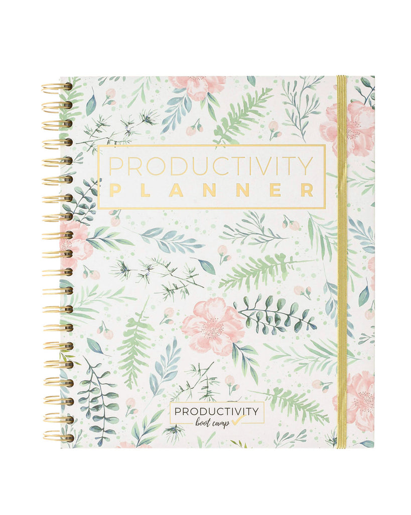 3-Month Productivity Planner | Floral