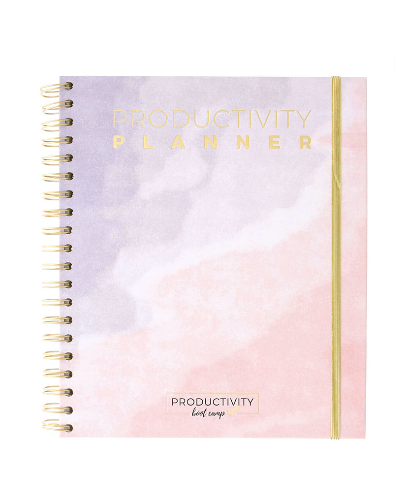 3-Month Productivity Planner | Watercolor