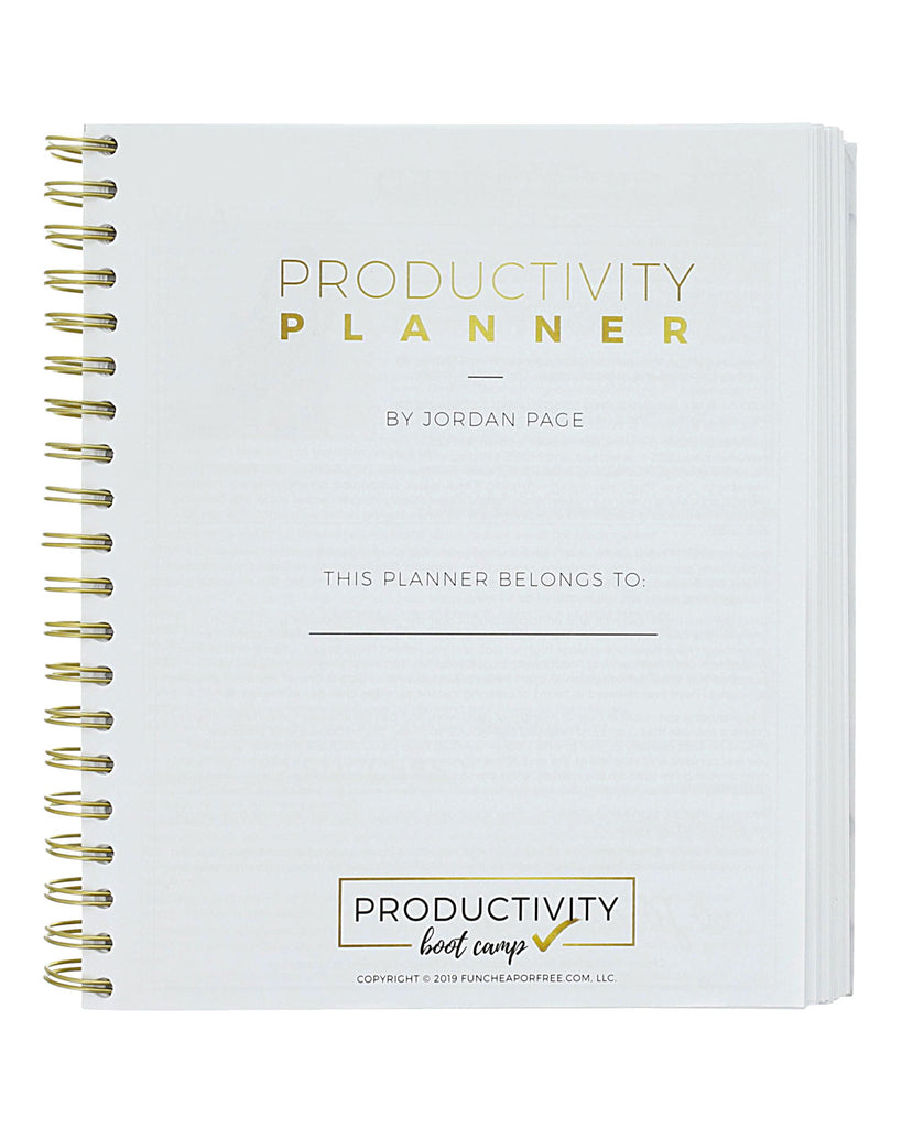 6-Month Productivity Planner