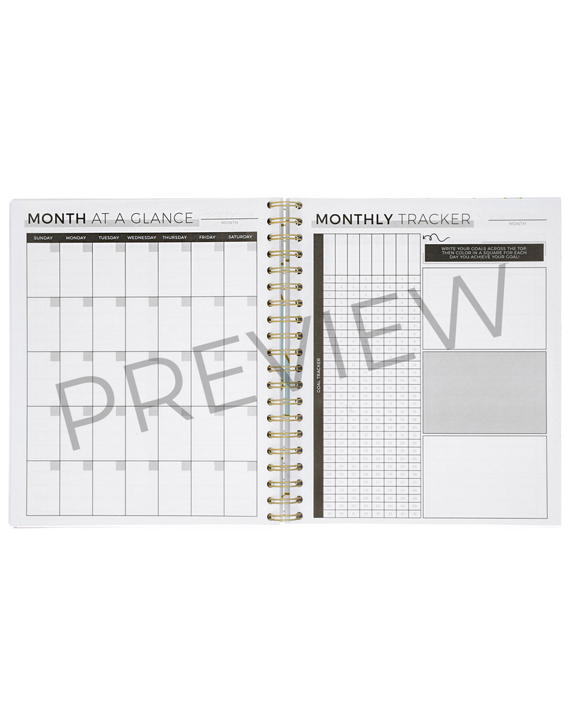 6-Month Productivity Planner | Marble