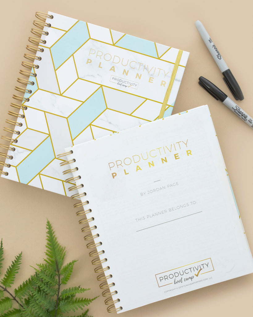 3-Month Productivity Planner | Geo