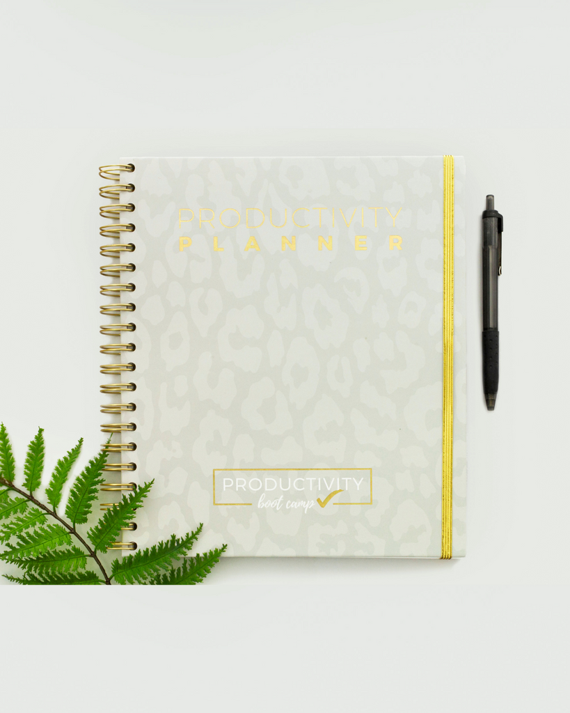 3-Month Productivity Planner | Leopard