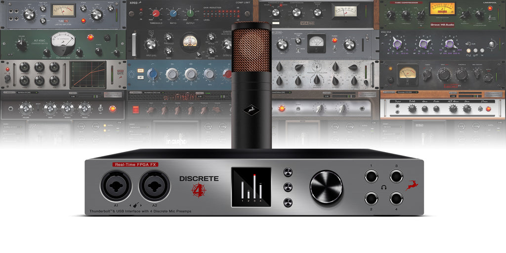 Antelope Audio Discrete 4 Microphone Bundle