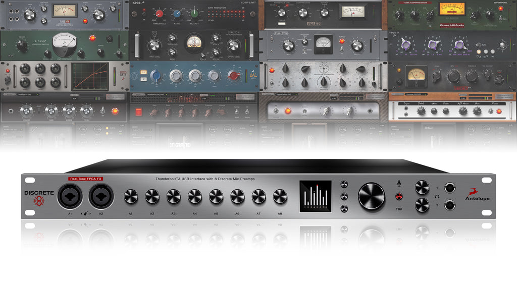 Antelope Audio Discrete 8 Microphone Preamp Interface