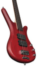 Warwick RockBass Corvette $$ 4-String Bass (Red)