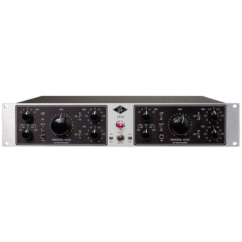 Universal Audio 2-610S Dual-Channel Tube Mic Preamp