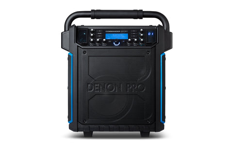 Denon Commander Sport Waterproof Professional Portable PA System