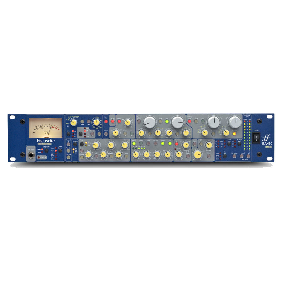 Focusrite ISA 430 MkII Mic Preamp Channel Strip