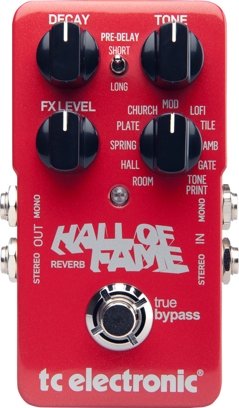TC Electronics Hall Of Fame Reverb Pedal