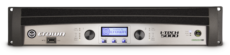 Crown I-Tech 5000HD Power Amplifier