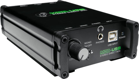 Mackie MDB-USB Stereo Direct Box