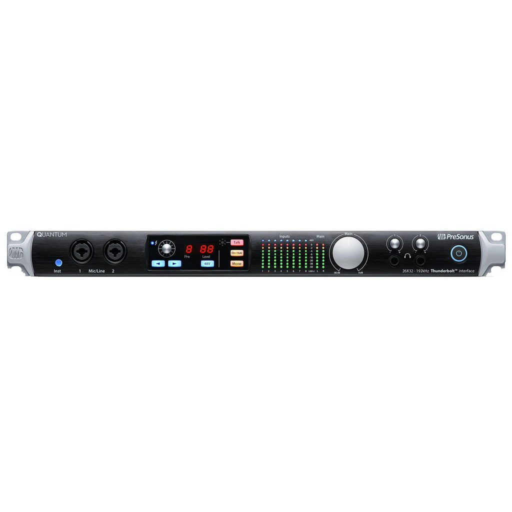 PreSonus Quantum Interface and Studio Command Center