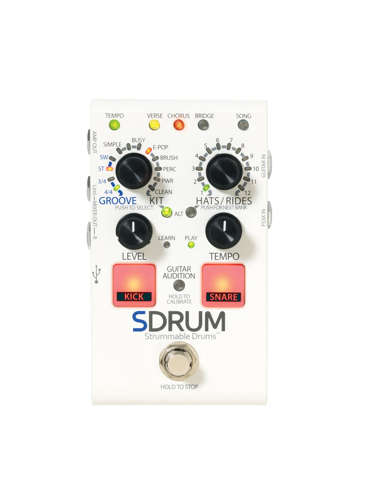 DigiTech SDRUM Looper Pedal