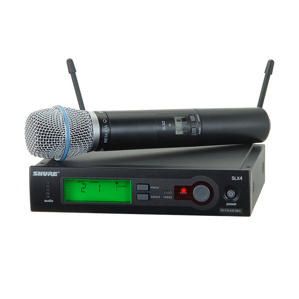 Shure SLX24/BETA87A Wireless System