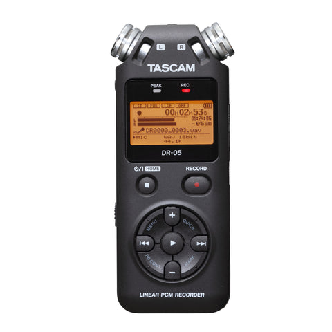 Tascam DR-05 Linear PCM Field Recorder