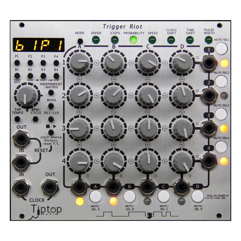 Tiptop Audio Trigger Riot Sequencer