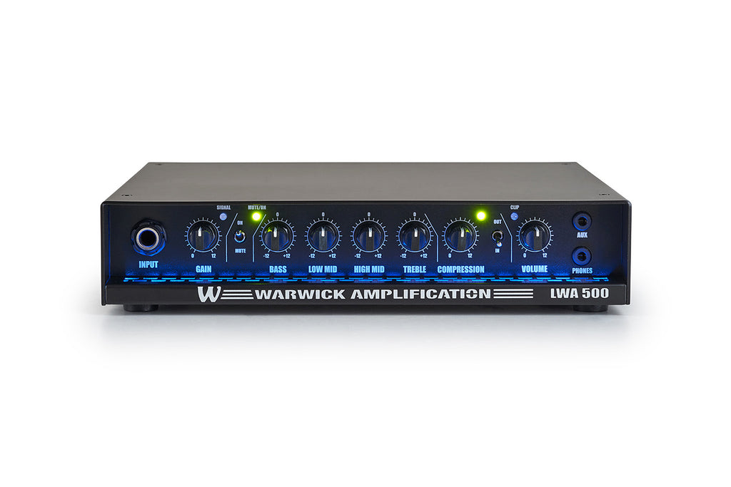 Warwick LWA 500 Bass Amp Head
