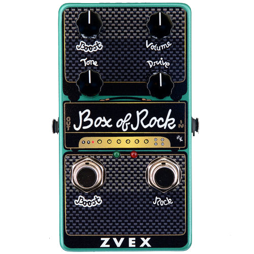 ZVEX Box of Rock Vertical Overdrive Pedal