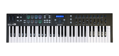 Arturia KeyLab Essential 61 MIDI Controller Keyboard Black Edition