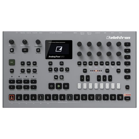 Elektron Analog Four MK2 Desktop Synthesizer