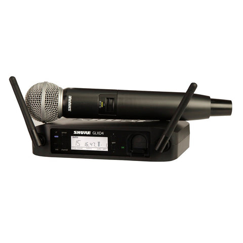 Shure GLXD24 with SM58 Handheld Wireless System