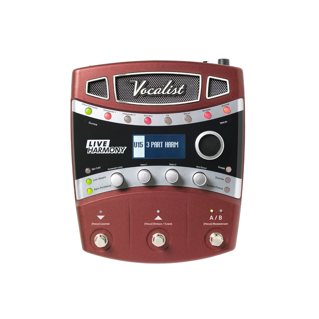 DigiTech Live Harmony Vocal Effects