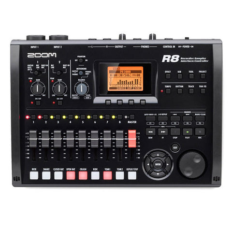 Zoom R8 Multitrack SD Recorder