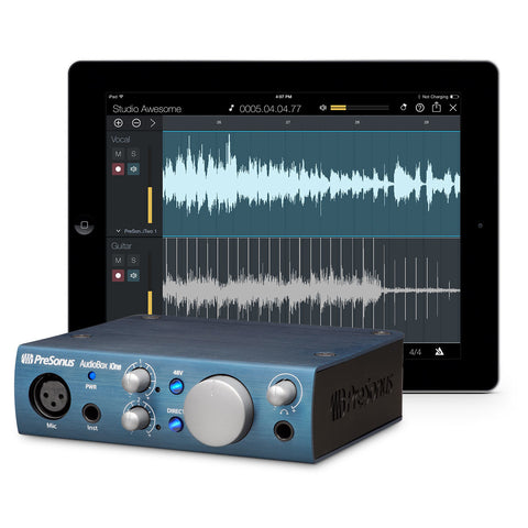 Presonus AudioBox iOne 2x2 iOS Interface