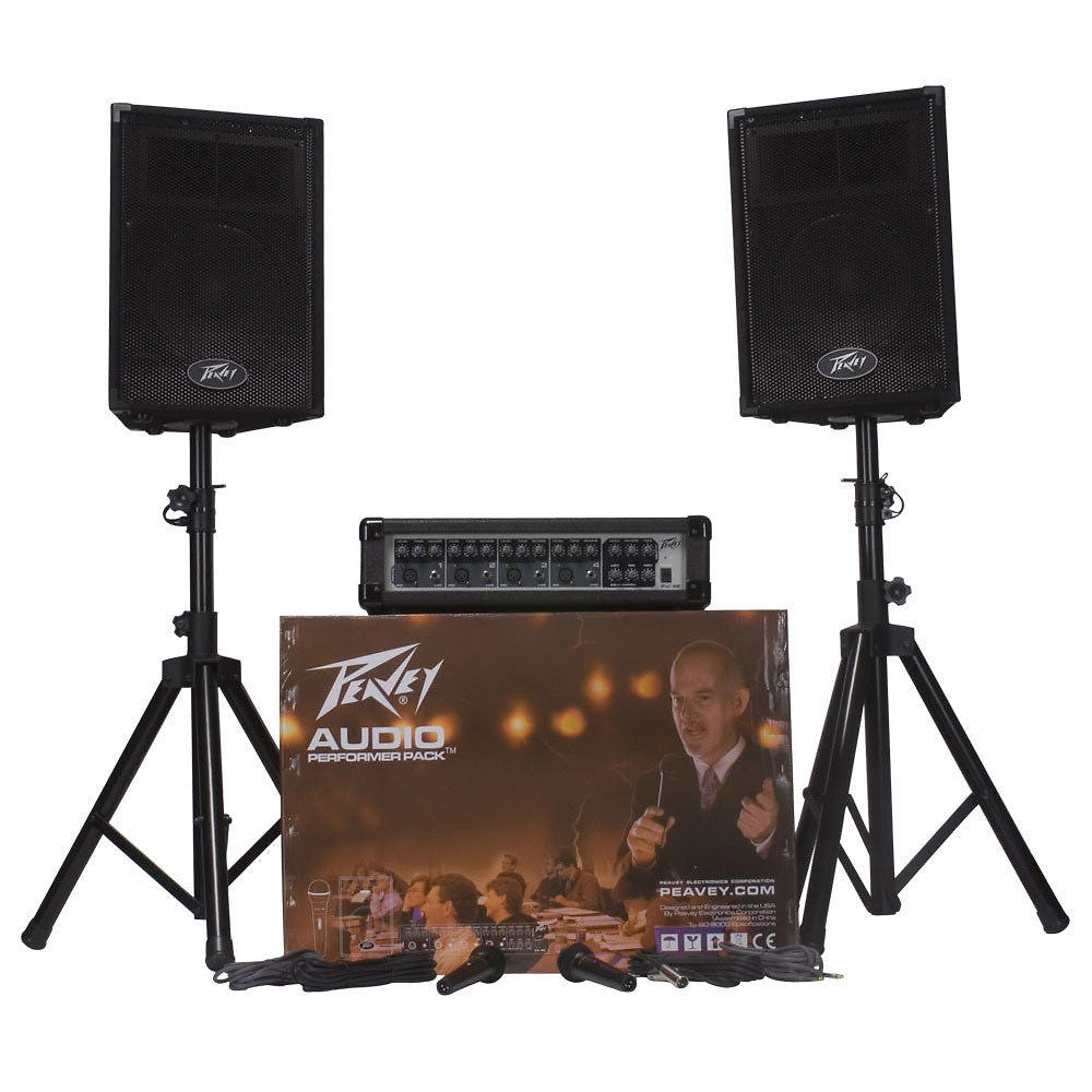 Peavey Audio Performer Pack PA System