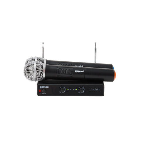 Gemini VHF02 Series Wireless Mic System S48