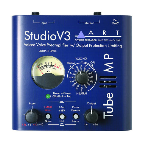 ART Tube MP Studio V3 Preamplifier