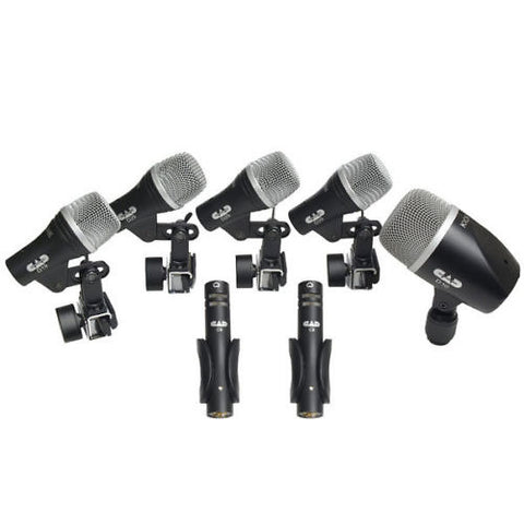 CAD Audio Stage 7 Drum Mic Pack