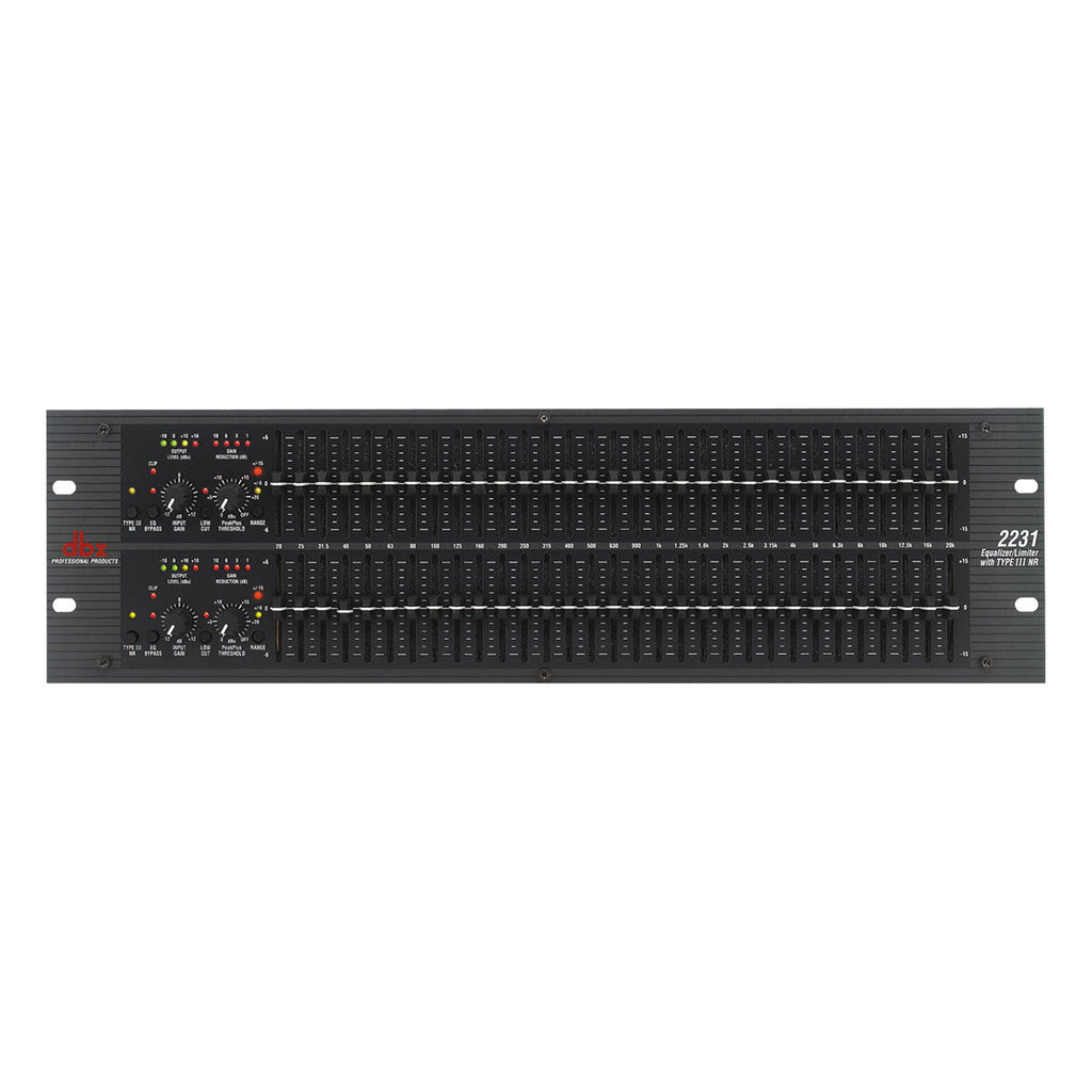 DBX 2231 Graphic Equalizer/Limiter