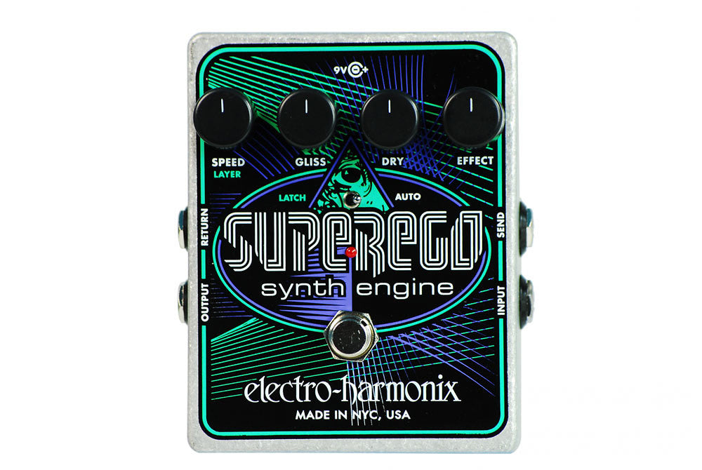 Electro-Harmonix SuperEgo Synth Engine Pedal