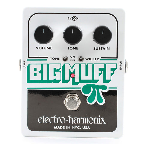 Electro-Harmonix Big Muff Pi with Tone Wicker Fuzz