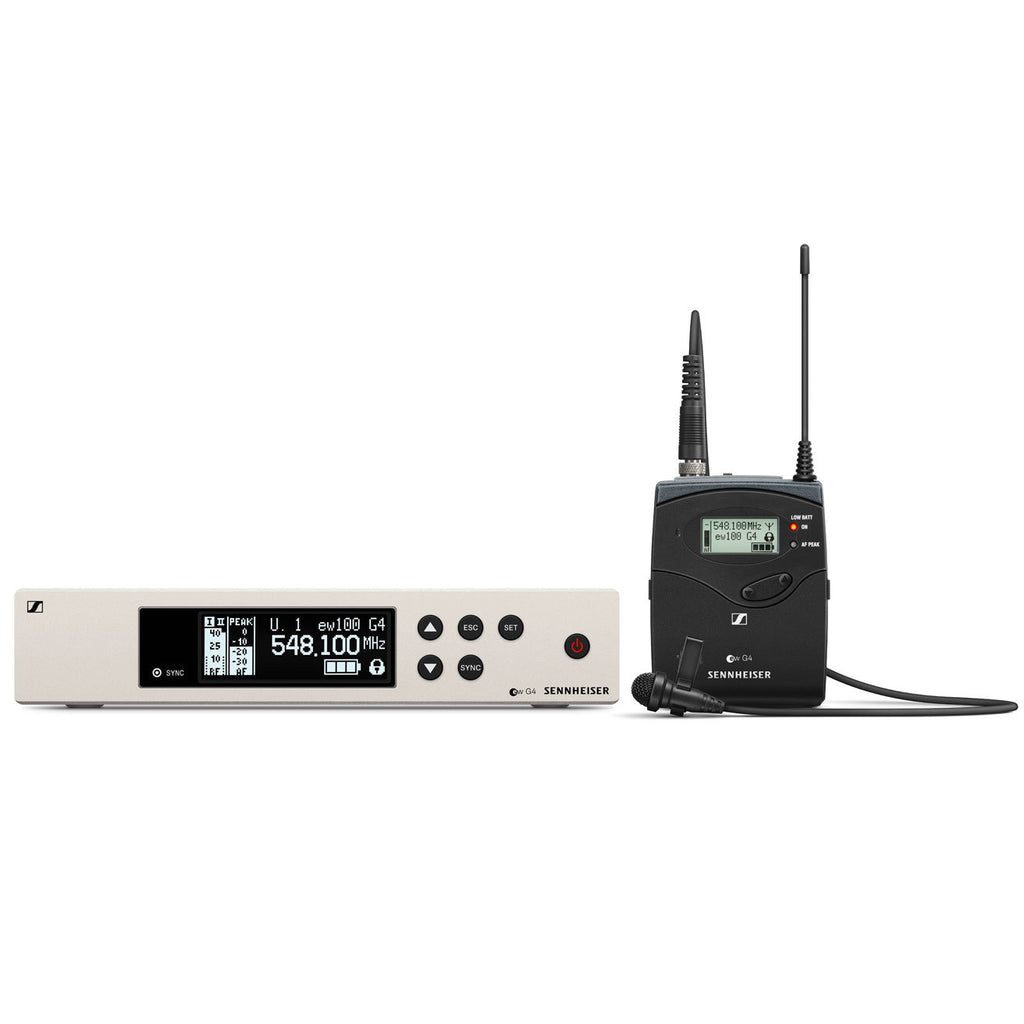 Sennheiser Evolution EW 100 G4-ME2 Lavalier Wireless System