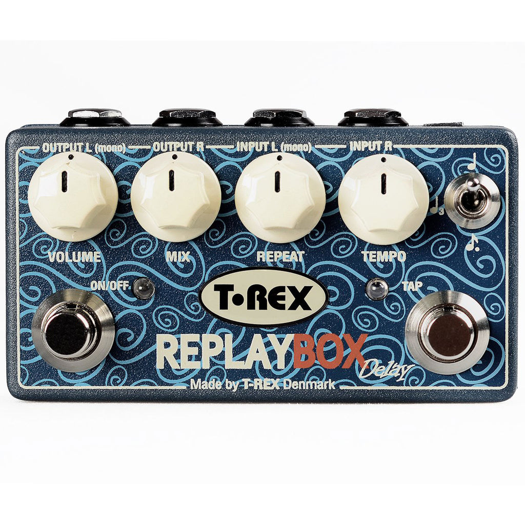 T-Rex Replay Box Stereo Delay Pedal