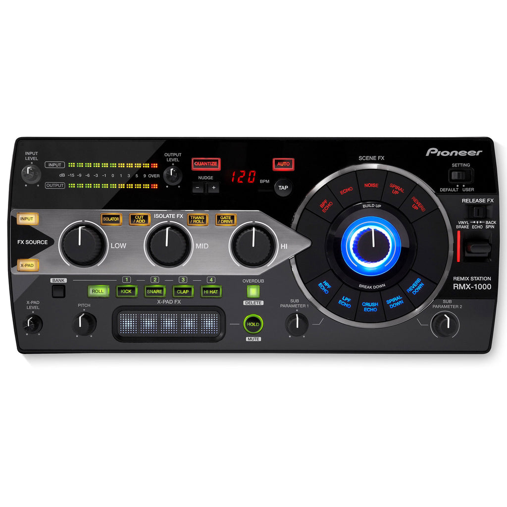 Pioneer RMX-1000 3-in-1 Remix Station