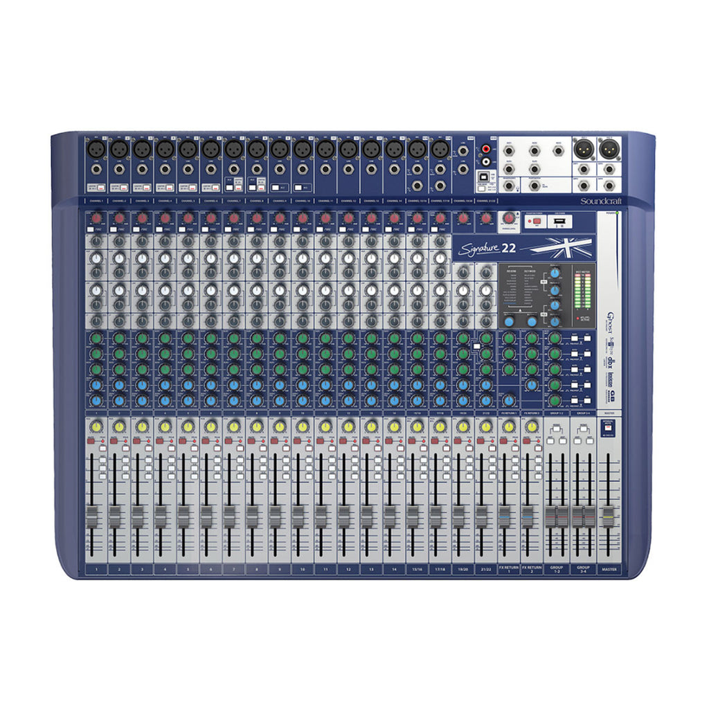 Soundcraft Signature 22 Mixer