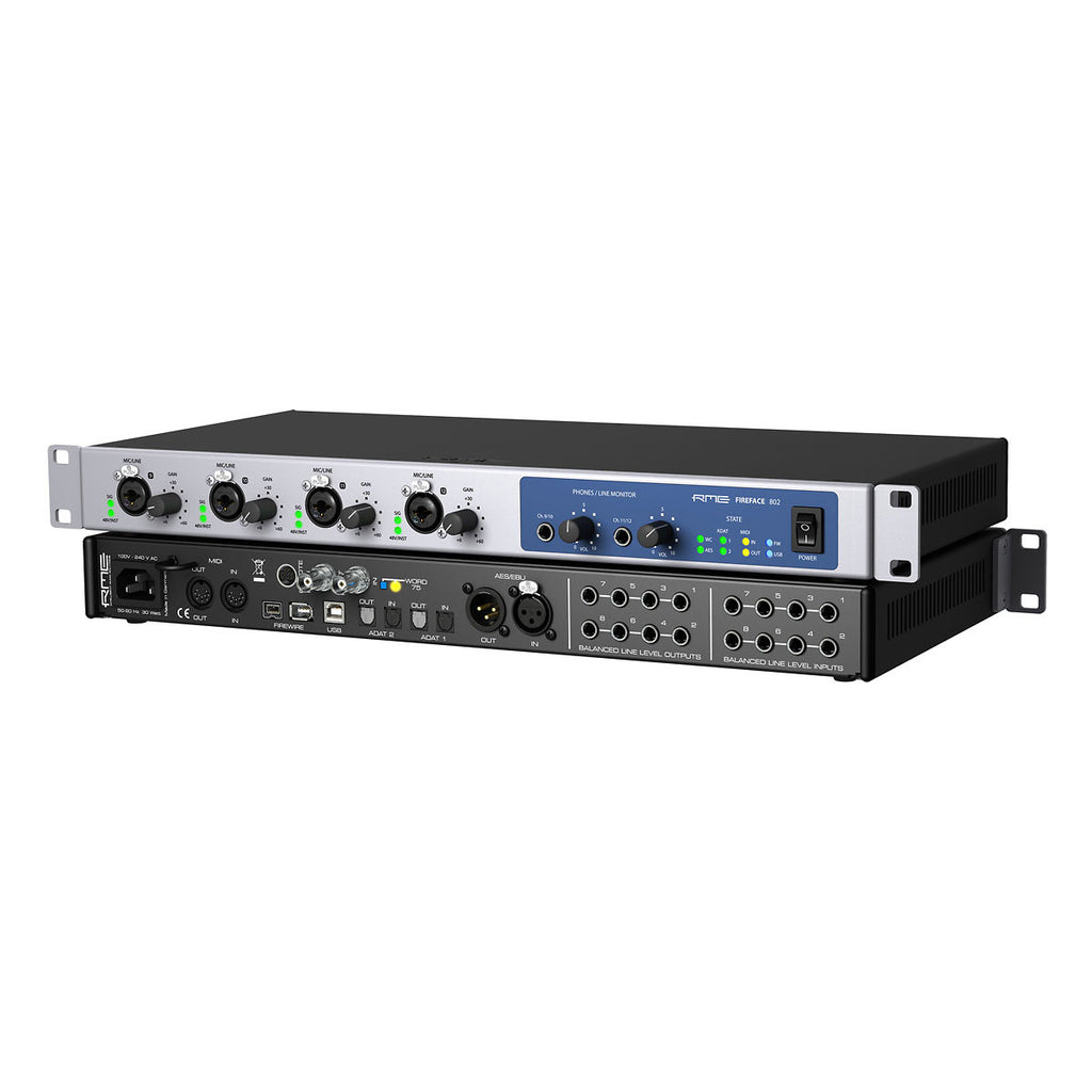 RME Fireface 802 USB/Firewire Interface