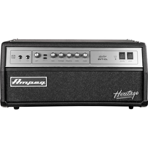 Ampeg Heritage SVT-CL 300W All-Tube Bass Head