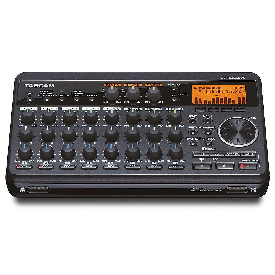 Tascam DP008EX Portable Multi-Track Recorder